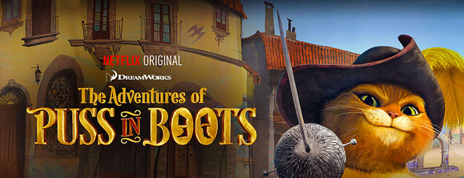 Puss in Boots Banner